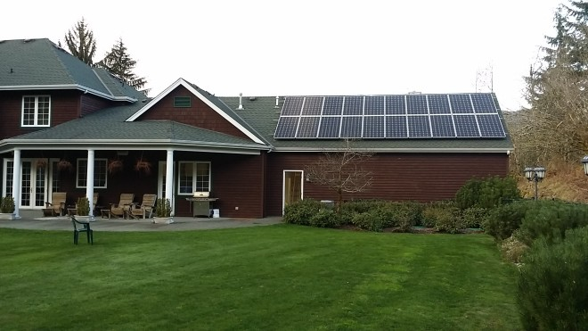 North Bend 2015/ 6.3 KW System
