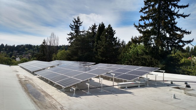 25.2 KW System on Redeemer Church, Kenmore - 2015